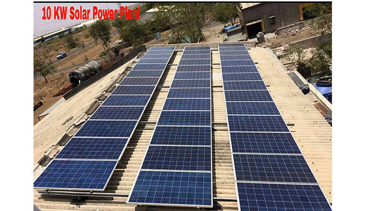 OUR SOLAR ROOF TOP PROJECTS